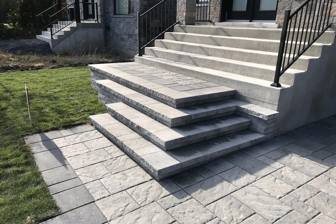 pavage-muret-escalier-maison