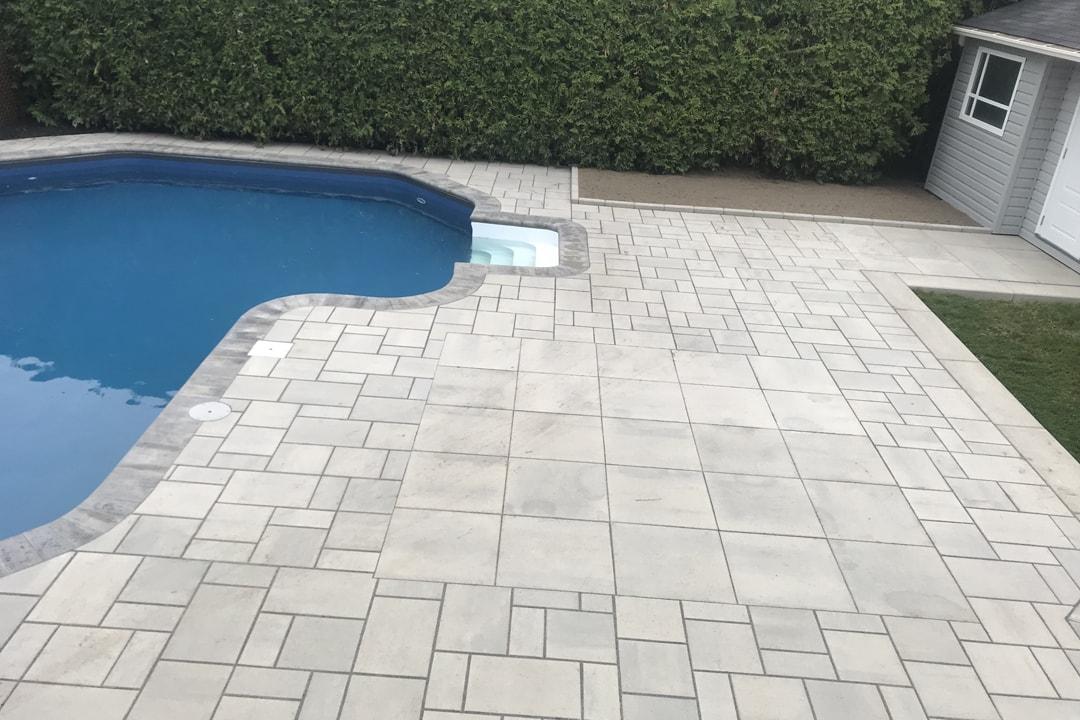 unistone patio-pool-dug-house